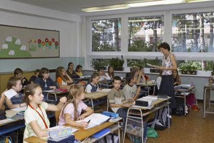 Žiaci v triede