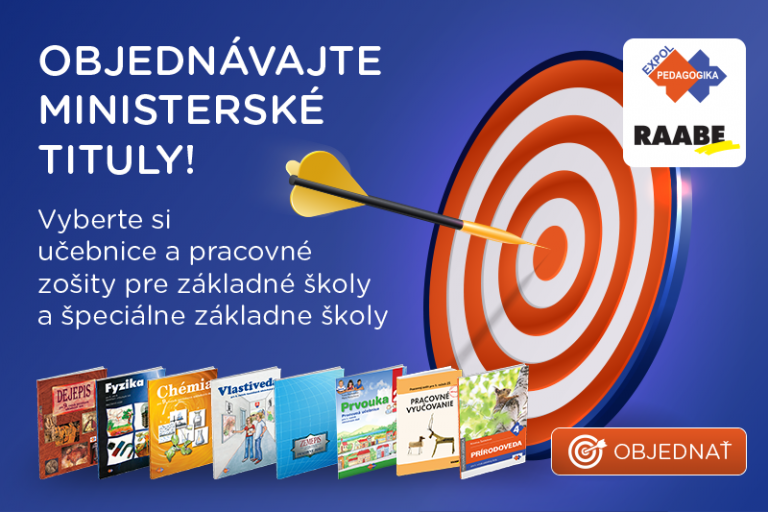 Raabe Slovensko a EXPOL Pedagogika reagujú na otvorenie trhu s učebnicami